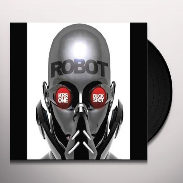 Krs One & Buckshot ROBOT Vinyl Record