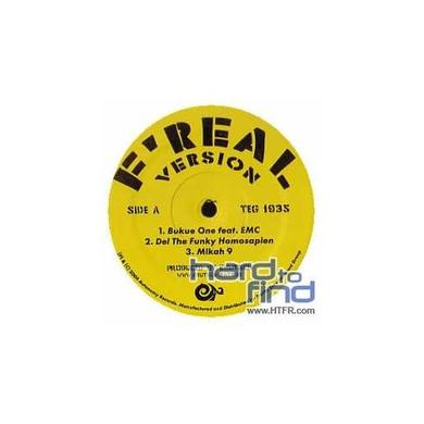 Mikah 9 / Abstract Rude / Bukue One FREAL VERSION Vinyl Record