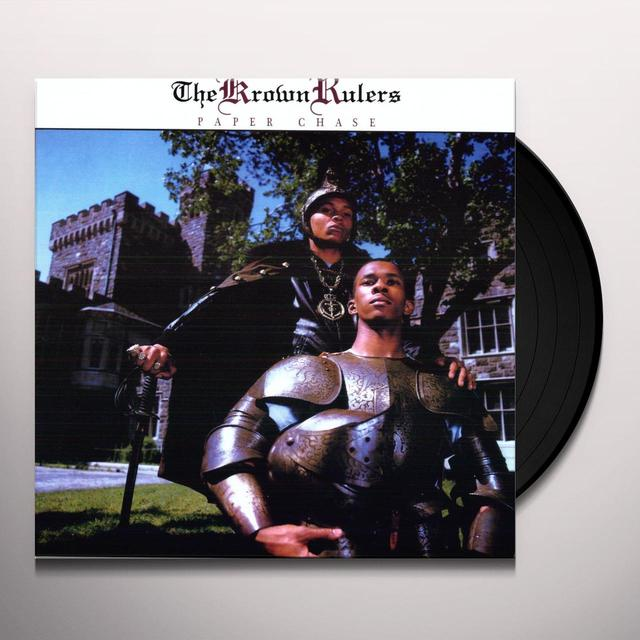 Krown Rulers PAPER CHASE Vinyl Record