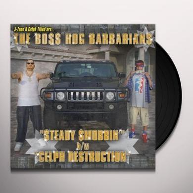 Boss Hog Barbarians STEADY SMOBBIN Vinyl Record