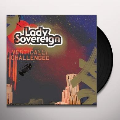 Lady Sovereign VERTICALLY CHALLENGED Vinyl Record
