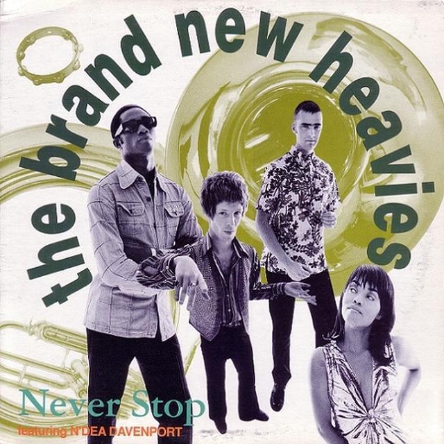 The Brand New Heavies NEVER STOP Vinyl Record