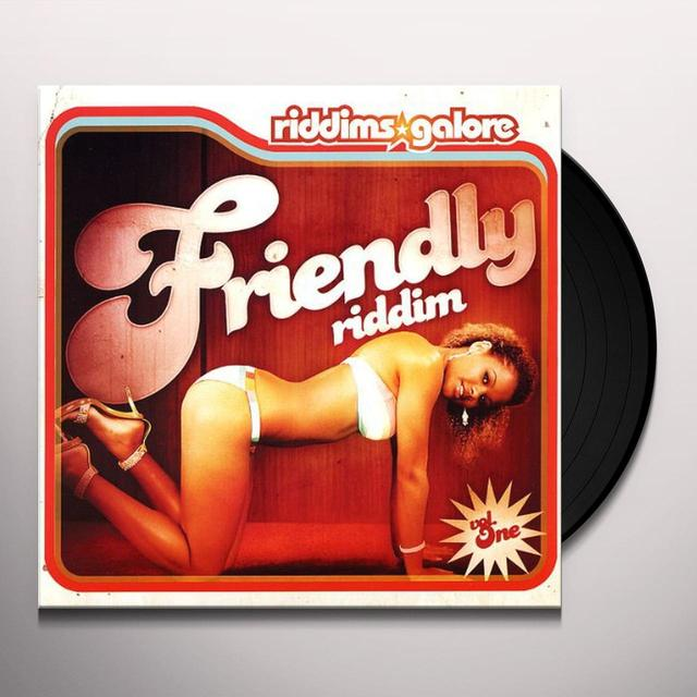 RIDDIMS GALORE 1 / VARIOUS Vinyl Record