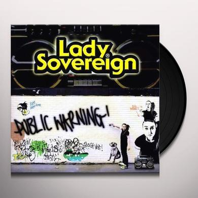 Lady Sovereign PUBLIC WARNING Vinyl Record