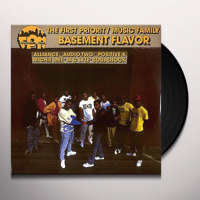 First Priority Music Family BASEMENT FLAVOR Vinyl Record