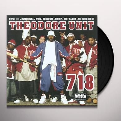 Theodore Unit 718 Vinyl Record