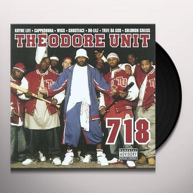 Theodore Unit 718 Vinyl Record