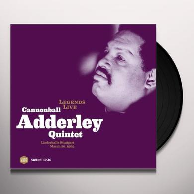 LEGENDS LIVE: CANNONBALL ADDERLEY QUINTET Vinyl Record