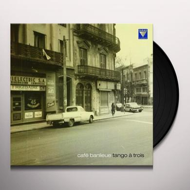Peter Ludwig CAFE BANLIEUE / TANGO A TROIS Vinyl Record