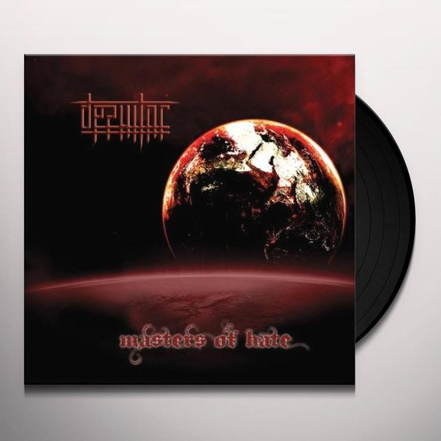 Desultor MASTERS OF HATE Vinyl Record