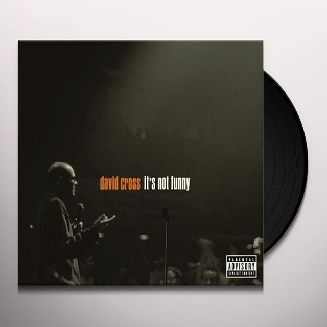 David Cross IT'S NOT FUNNY Vinyl Record