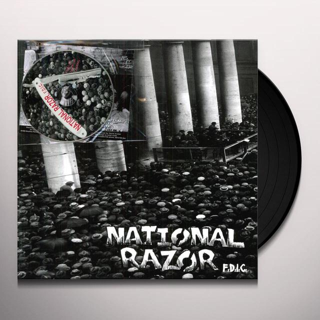 National Razor FDIC Vinyl Record