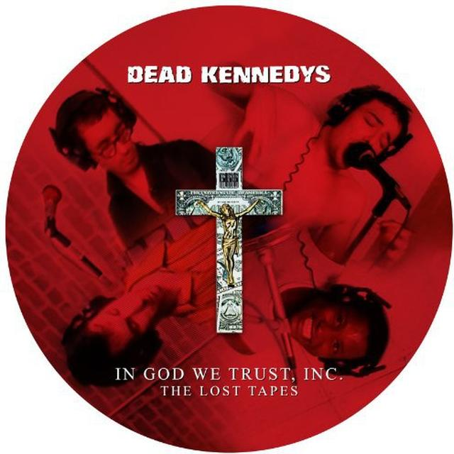 Dead Kennedys IN GOD WE TRUST INC: LOST TAPES Vinyl Record