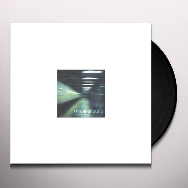 Analog Pussy UNDERGROUND VINYL Vinyl Record
