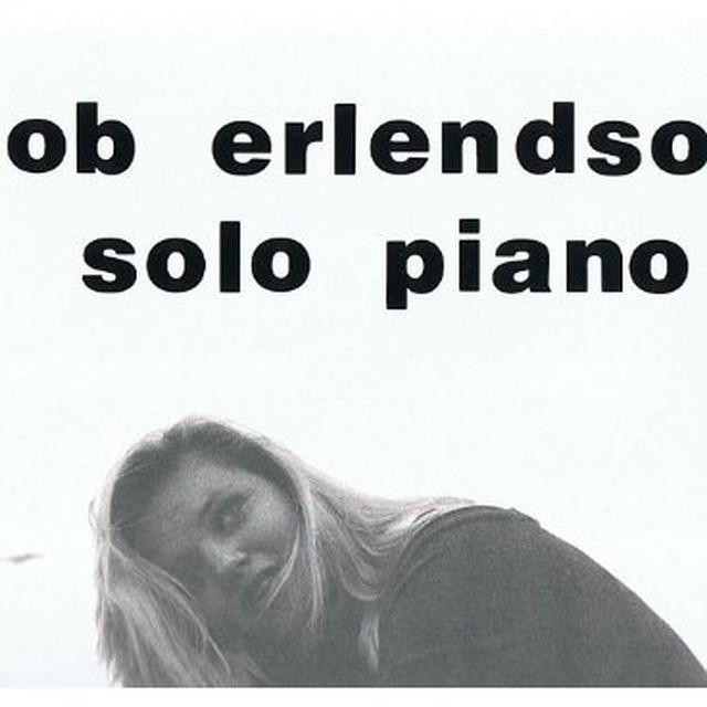 Bob Erlendson SOLO PIANO Vinyl Record