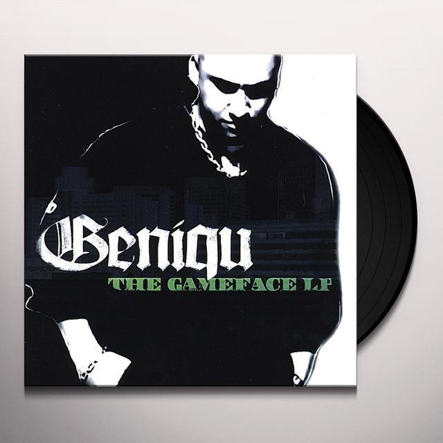 Geniqu GAMEFACE Vinyl Record