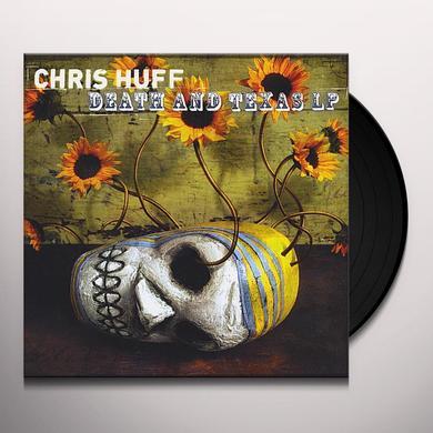 Chris Huff DEATH & TEXAS Vinyl Record