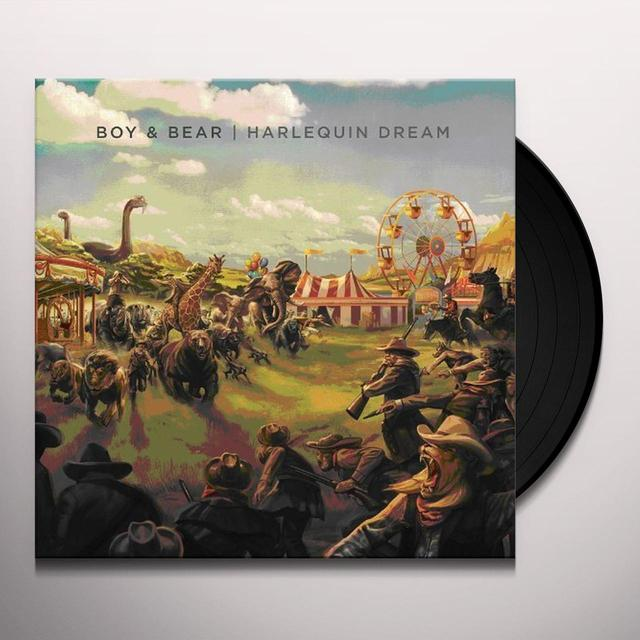 Boy & Bear HARLEQUIN DREAM Vinyl Record