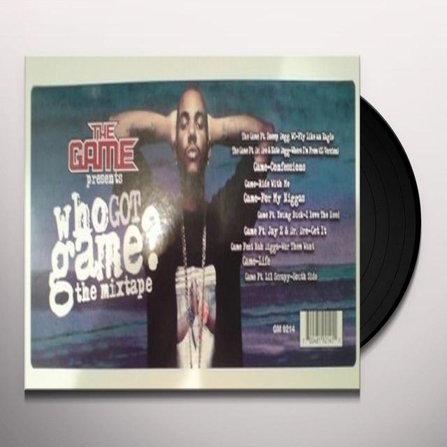 WHO GOT GAME Vinyl Record