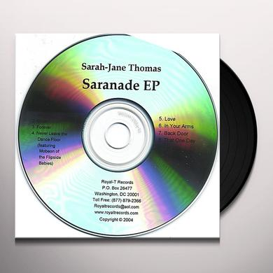 Sarah-Jane Thomas SARANADE LP Vinyl Record