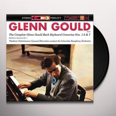 COMPLETE GLENN GOULD BACH KEYBOARD CTOS Vinyl Record