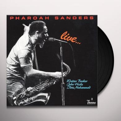 Pharoah Sanders LIVE: WALTER BOOKER-JOHN HICKS-IDRIS Vinyl Record