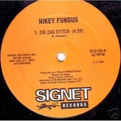 Nikey Fungus & Daddy Sylva ZIG ZAG STITCH / GOODY BODY Vinyl Record