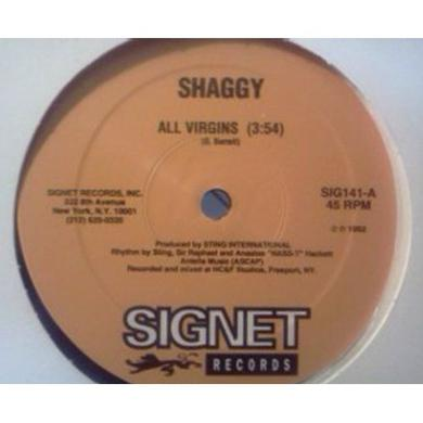 Shaggy ALL VIRGINS Vinyl Record