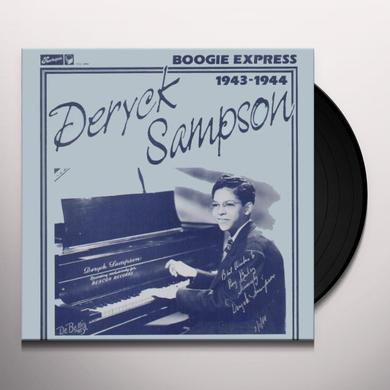 Deryck Sampson BOOGIE EXPRESS Vinyl Record