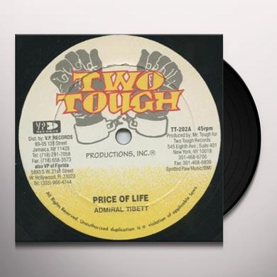 Admiral Tibett Egyptian PRINCE OF LIFE (ADMIRAL TIBETT) B/W DEM INFORM Vinyl Record