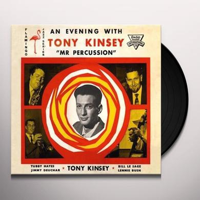 EVENING WITH TONY KINSEY 'MR. PERCUSSION Vinyl Record