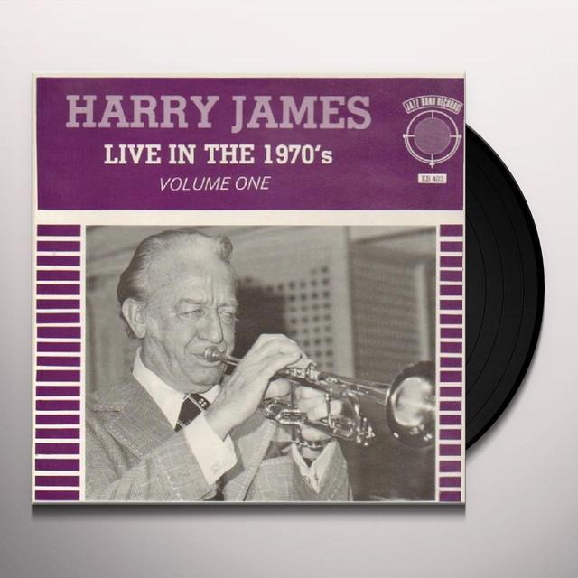 Harry James LIVE IN THE 70'S 1 Vinyl Record