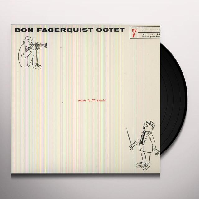 Don Fagerquist EIGHT BY EIGHT: MUSIC TO FILL A VOID Vinyl Record
