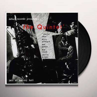 Charlie Parker QUINTET/JAZZ AT MASSEY HALL Vinyl Record