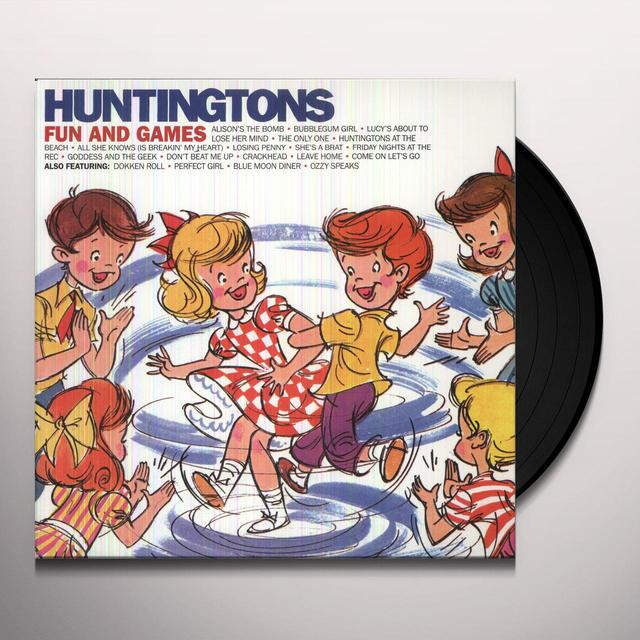 Huntingtons FUN & GAMES Vinyl Record
