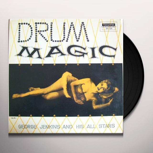 George Jenkins DRUM MAGIC Vinyl Record