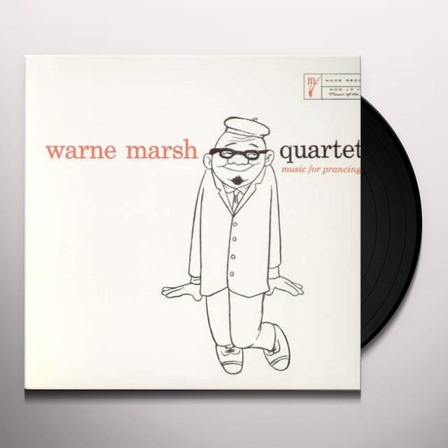 Warne Marsh MUSIC FOR PRANCING Vinyl Record