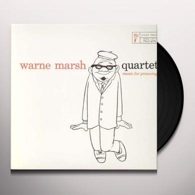 Warne Marsh MUSIC FOR PRANCING Vinyl Record