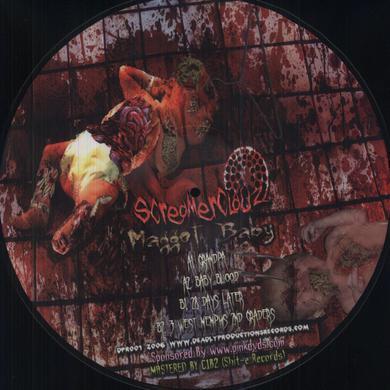 Jimmy Screamclauz SCREAMERCLAUZ: MAGGOT BABY PICTURE DISCLIMITED Vinyl Record