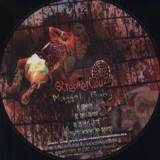 Jimmy Screamclauz SCREAMERCLAUZ: MAGGOT BABY PICTURE DISCLIMITED Vinyl Record