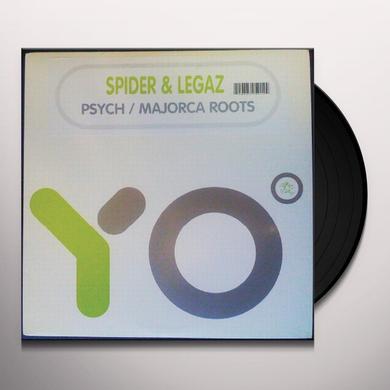 Spider & Legaz PSYCH Vinyl Record