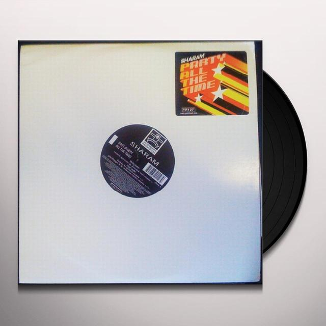 Sharam PATT (PARTY ALL THE TIME) REMIXES Vinyl Record