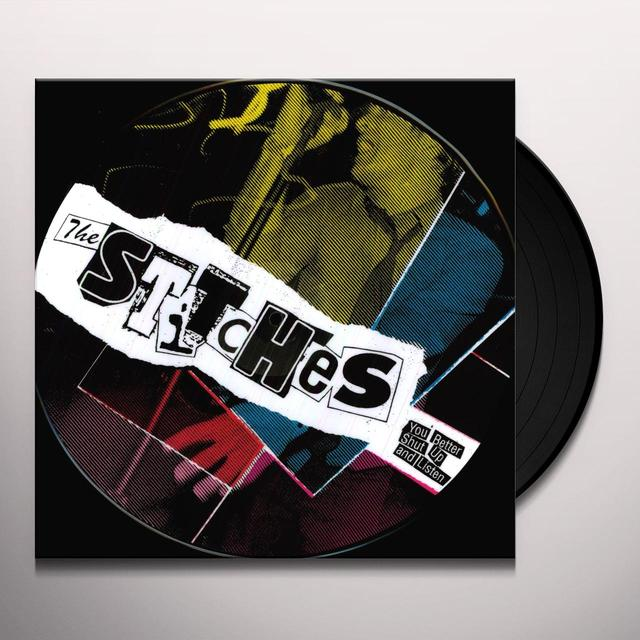 Stitches YOU BETTER SHUT UP & LISTEN Vinyl Record