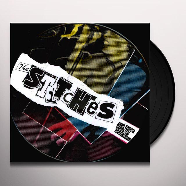 Stitches YOU BETTER SHUT UP & LISTEN Vinyl Record