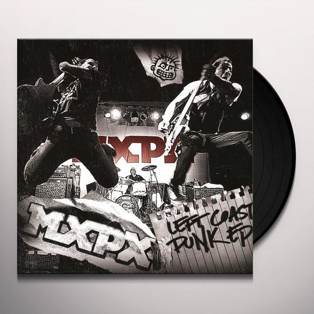 Mxpx LEFT COAST PUNK EP Vinyl Record