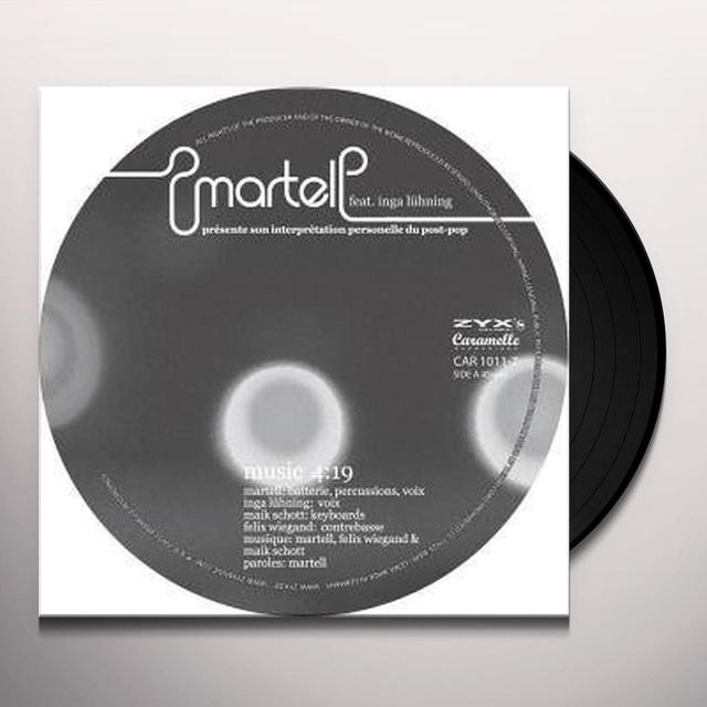 Martell (Ft Inga) MUSIC Vinyl Record