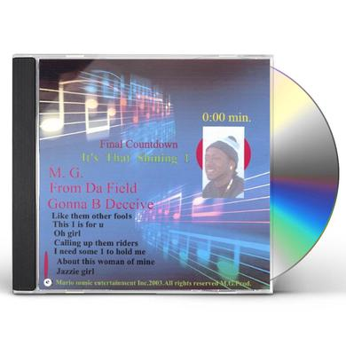 MG ITS THAT SHINING 1 CD