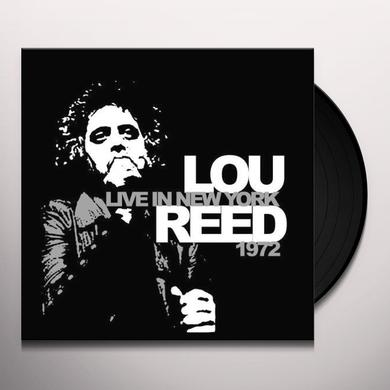 Lou Reed LIVE IN NEW YORK 1972 Vinyl Record