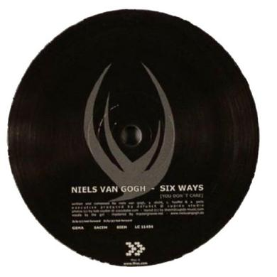 Niels Van Gogh SIX WAYS & TRY TO BELIEVE Vinyl Record