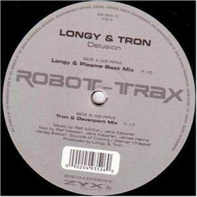 Longy & Tron DELUSION Vinyl Record
